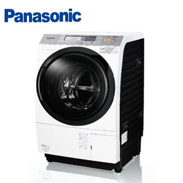 【福利品 】Panasonic 10.5公斤nanoe泡洗淨滾筒洗衣機(左開)