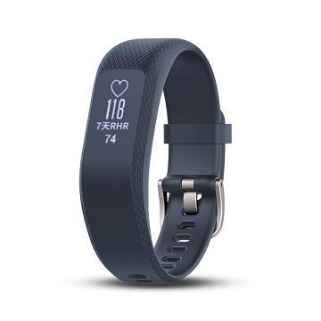 【大】Garmin Vivosmart3智慧健身心率手環-藍