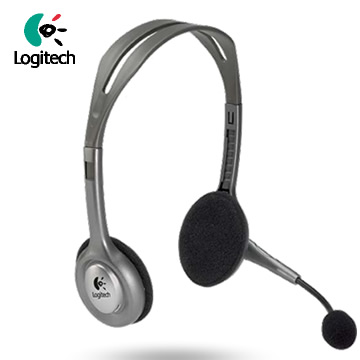 【福利品】羅技 H110 頭戴式耳機麥克風(981-000215)