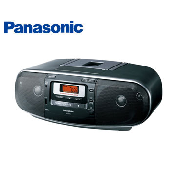 國際牌Panasonic USB MP3手提收錄音機(RX-D55-K)