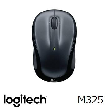 羅技 Logitech M325 無線滑鼠 - 黑(910-002153)