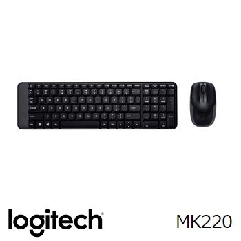 羅技Logitech MK220無線鍵盤滑鼠組(920-003237)