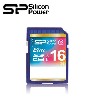 【16G】廣穎 Silicon-Power SDHC UHS-1 /C10 SD記憶卡(SP016GBSDHAU1V10)