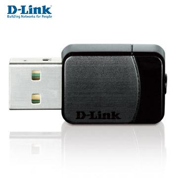 D-Link Wireless AC 雙頻USB 無線網路卡(DWA-171)