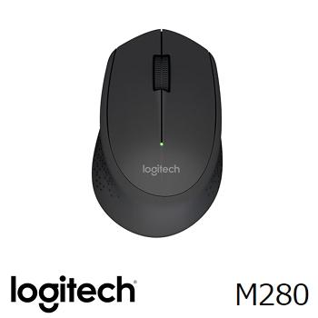 Logitech羅技 M280 無線滑鼠 黑(910-004298)