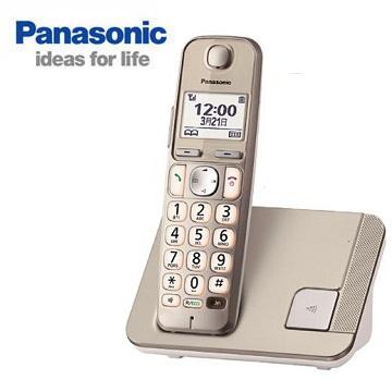 【福利品】Panasonic中文顯示大字鍵數位無線電話(KX-TGE210TWN)