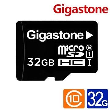 Gigastone立達 MicroSD U1 32GB記憶卡(附轉卡)(GST microSD 32G U1)