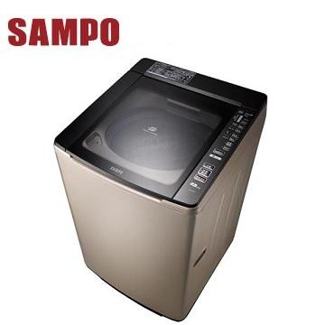【福利品】聲寶 16公斤單槽變頻洗衣機(ES-JD16P(Y1)香檳金)