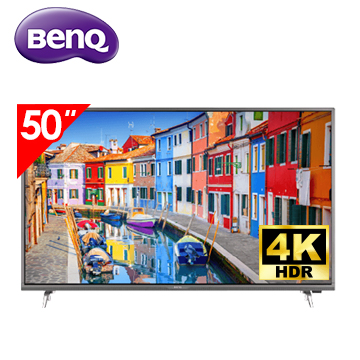 (福利品)明基BenQ 50型 4K 智慧藍光2.0 智慧連網顯示器 含視訊盒(E50-700(視185497))