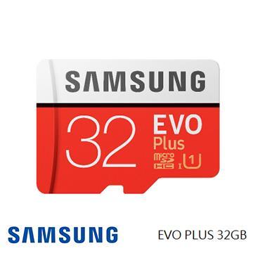 「公司貨」【U1 / 32G】SAMSUNG EVO Plus MicroSD記憶卡(MB-MC32GA)