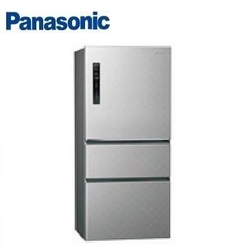 【福利品】Panasonic 500公升三門變頻冰箱(NR-C500HV-S(銀河灰))