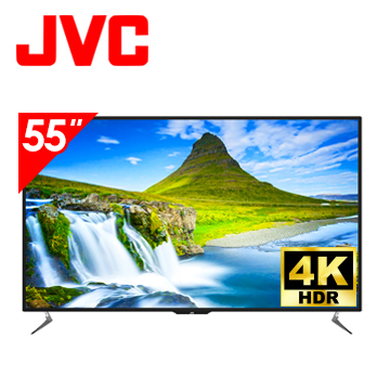 JVC 55型 4K HDR WiFi 護眼 連網液晶顯示器(55V)