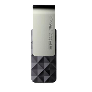 廣穎Blaze B30 256G(黑)旋轉隨身碟(SP256GBUF3B30V1K)