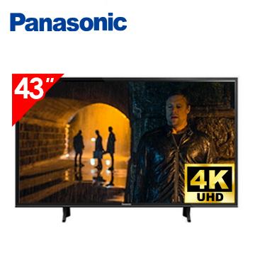 【福利品】Panasonic 43型六原色4K智慧聯網顯示器(TH-43GX750W(視198068))