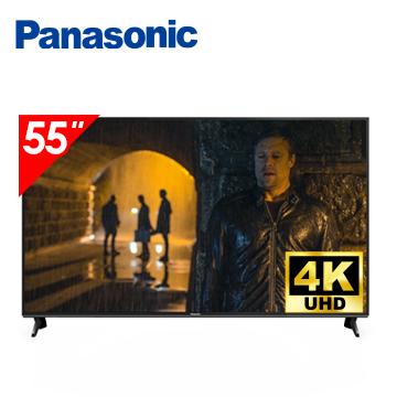 (展示機)國際牌Panasonic 55型 六原色 4K 智慧聯網顯示器(TH-55GX750W(視198068))