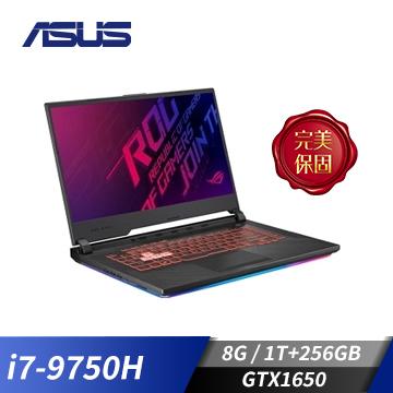 【展示品】ASUS ROG STRIX G G531GT 15.6吋筆電(i7-9750H/GTX1650/8GD4/256G+1T)(G531GT-G-0051C9750H)