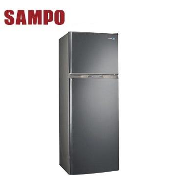【福利品】展-聲寶 250公升雙門變頻冰箱(SR-A25D(S3)不鏽鋼)