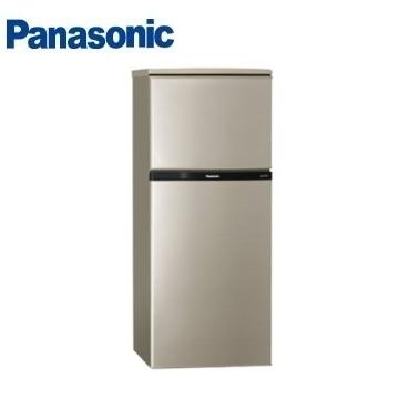 【展示品】Panasonic 130公升雙門變頻冰箱(NR-B139TV-R)