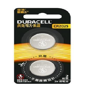 金頂金霸王鋰電池CR2025 2入(CR 2025)