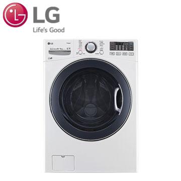 【福利品】展-LG 16公斤蒸氣洗脫烘滾筒洗衣機(WD-S16VBD)