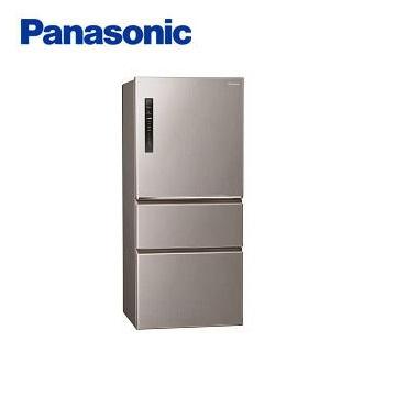 【展示品】Panasonic 610公升三門變頻冰箱(NR-C610HV-L(絲紋灰))