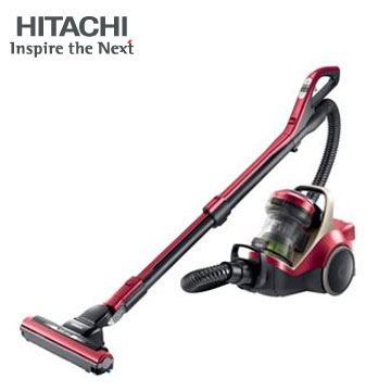 (展示機) 日立HITACHI 日本進口420W渦輪吸塵器(CVSX950T(炫麗紅))
