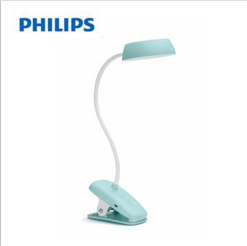 飛利浦酷皓USB充電LED夾燈-寶貝綠(915005935701)