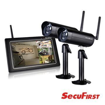 SecuFirst 數位無線網路監視器(DWH-A077X)