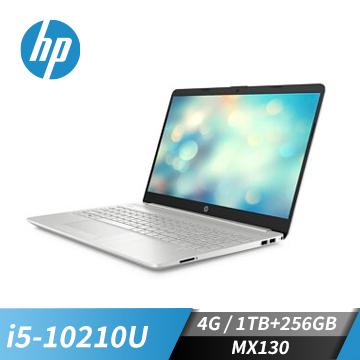 HP惠普 15s 筆記型電腦 (i5-10210U/MX130/4GB/256GB+1TB)(超品15s-du1019TX)