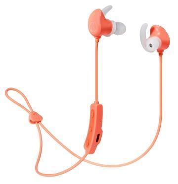 Audio-Technica鐵三角 運動藍牙耳機 珊瑚粉(ATH-SPORT60BT PK)