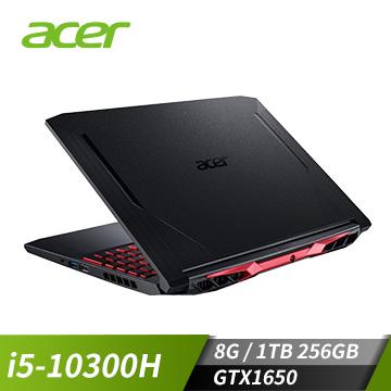 ACER宏碁 Nitro 5 電競筆電(i5-10300H/GTX1650/8G/1T+256G)(AN515-55-53CZ)